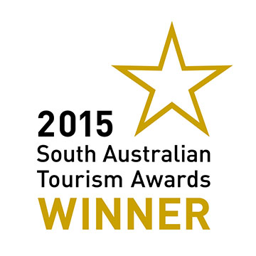 South Australian Tourism Awards 2015 winner