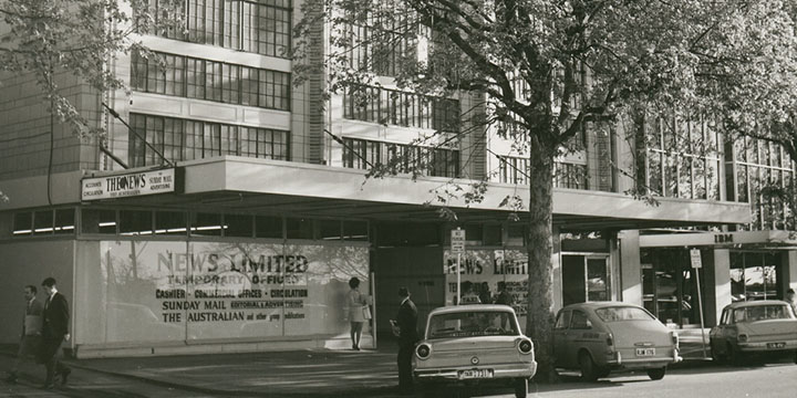 113 North Terrace in 1969 News Limited